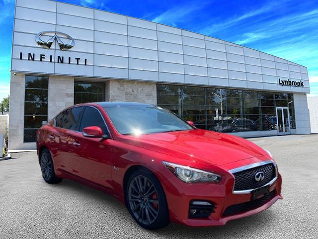 2017 INFINITI Q50 Red Sport 400 [9]
