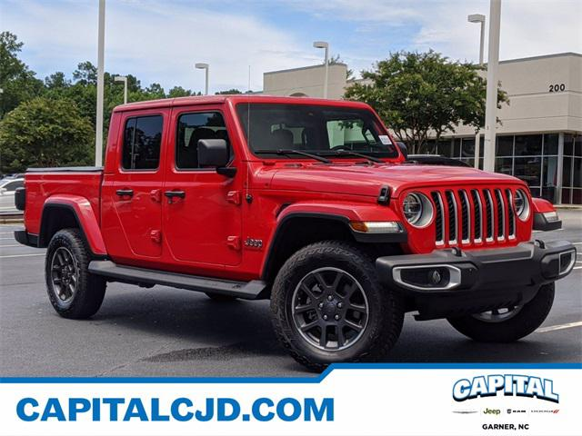 2020 Jeep Gladiator OVERLAND Short Bed Slide