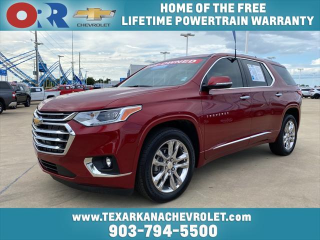 2020 Chevrolet Traverse High Country [1]