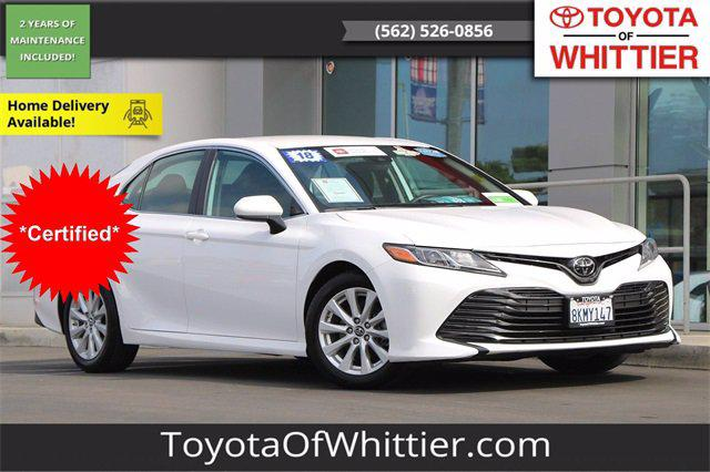 2019 Toyota Camry LE for sale in Whittier, CA