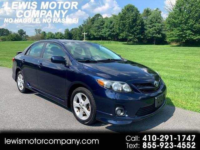 2012 Toyota Corolla S 5-Speed MT for sale in Clarksville, MD
