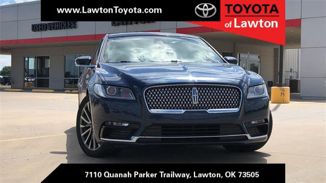 2017 Lincoln Continental Select [0]