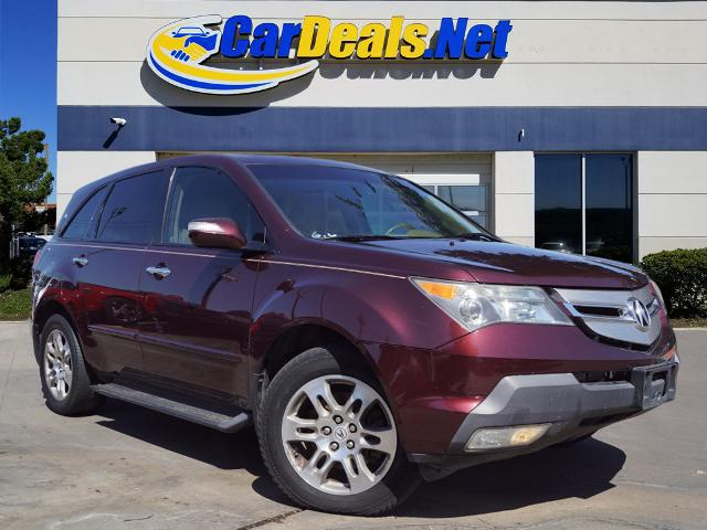 Used ACURA MDX 2008 CARDEALS.NET PLANO