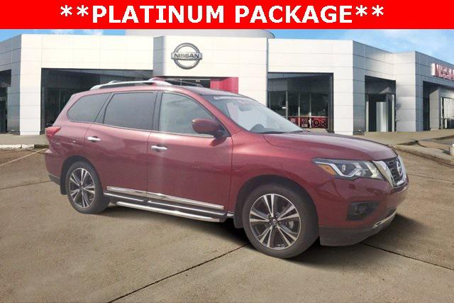 2018 Nissan Pathfinder Platinum [1]