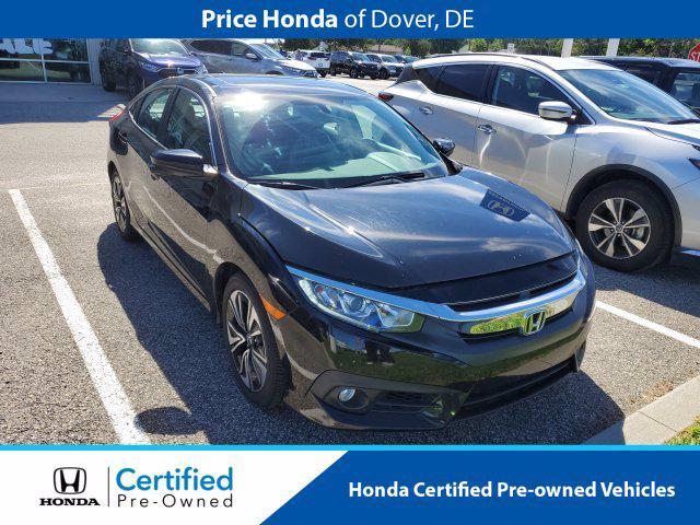 2017 Honda Civic Sedan EX-L for sale in Dover, DE