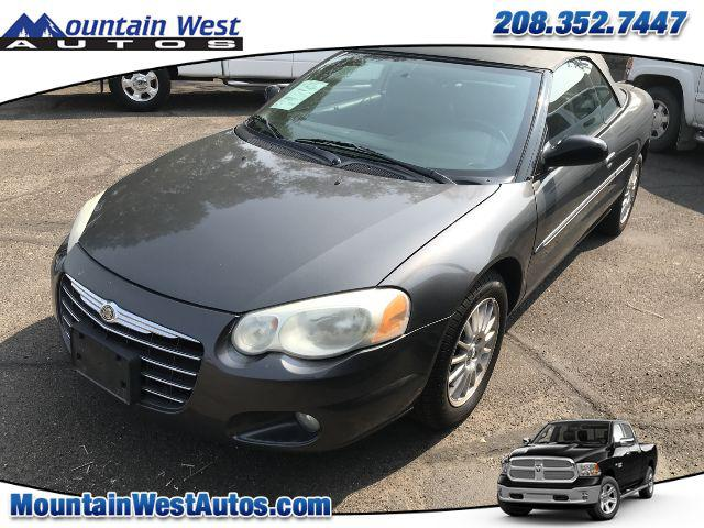 2005 Chrysler Sebring Conv Touring for sale in Twin Falls, ID