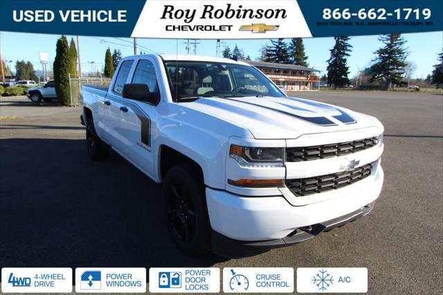 2018 Chevrolet Silverado 1500 Custom for sale in Marysville, WA