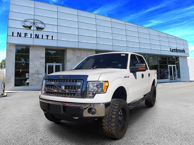"2014 Ford F-150 4WD SuperCrew 145″"" XLT [1]"