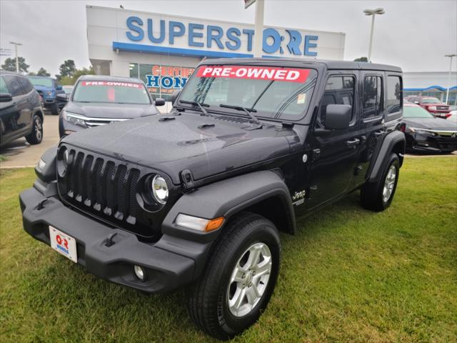 2020 Jeep Wrangler Unlimited Sport S [0]