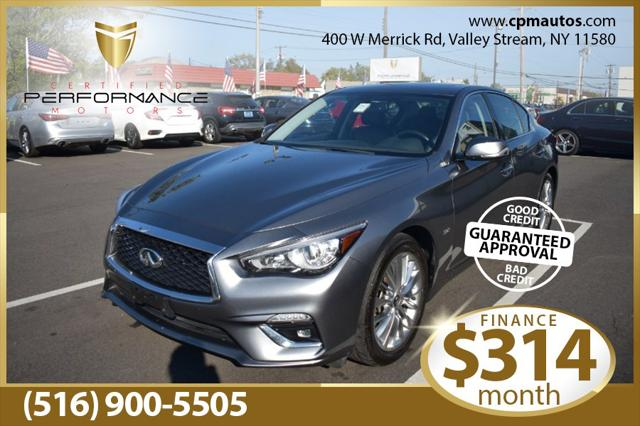 2019 INFINITI Q50 3.0t LUXE for sale in Valley Stream, NY