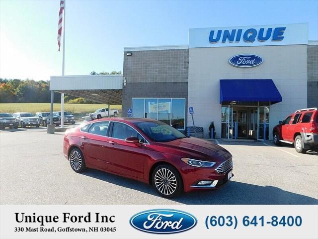 2017 Ford Fusion SE for sale in Chicopee, MA