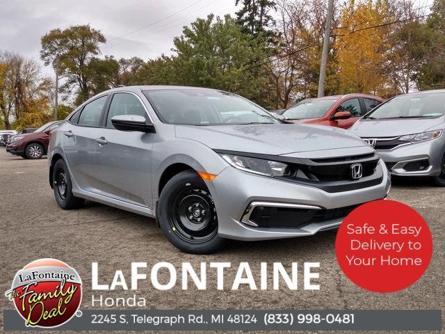2021 Honda Civic LX 4dr Sedan for sale in Dearborn, MI