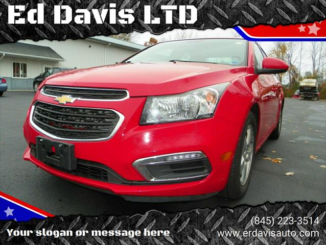 2015 Chevrolet Cruze LT for sale in Poughquag, NY