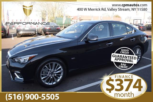 2020 INFINITI Q50 3.0t LUXE for sale in Valley Stream, NY