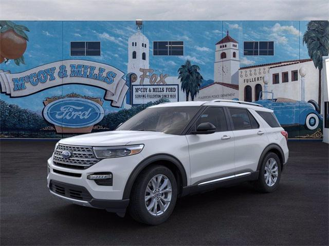 2021 Ford Explorer Limited for sale in Fullerton, CA