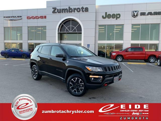 2021 Jeep Compass Trailhawk for sale in Zumbrota, MN