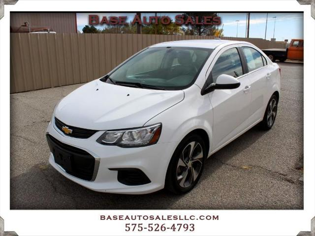 2019 Chevrolet Sonic Premier for sale in Las Cruces, NM