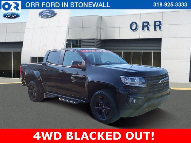 2021 Chevrolet Colorado 4WD LT [1]