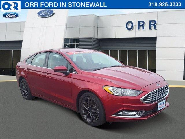 2018 Ford Fusion SE [1]