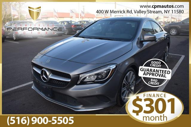 2018 Mercedes-Benz CLA CLA 250 for sale in Valley Stream, NY