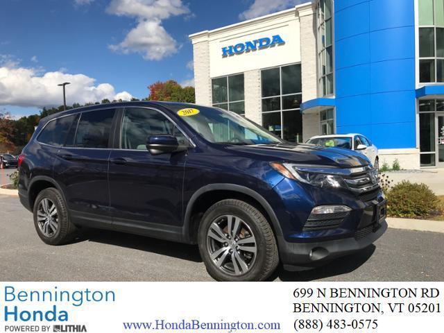 2017 Honda Pilot EX-L for sale in Bennington, VT
