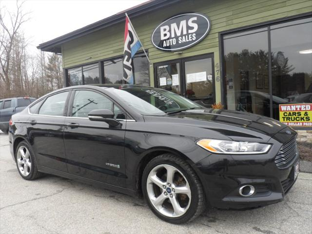 2014 Ford Fusion SE Hybrid for sale in Brooklyn, CT