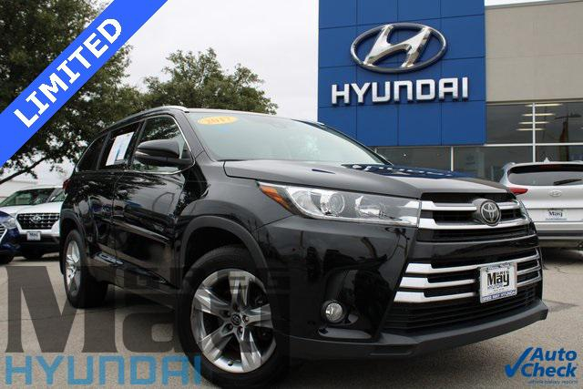 2017 Toyota Highlander Limited [1]