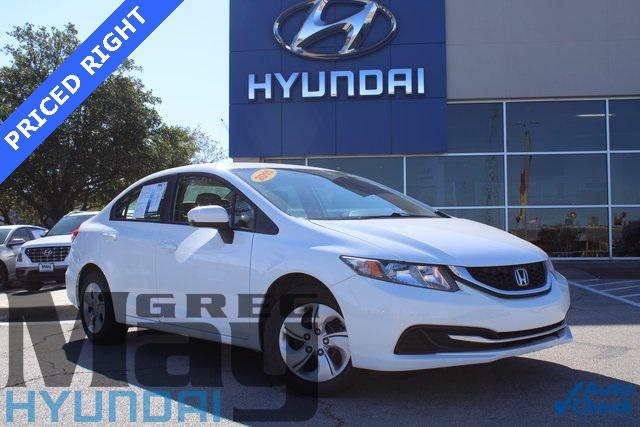 2015 Honda Civic Sedan LX [19]