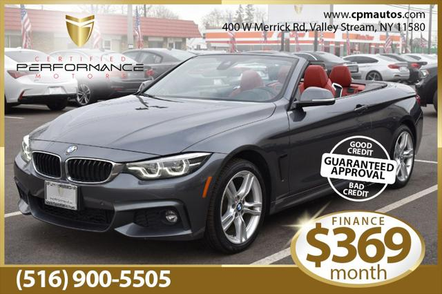 2018 BMW 4 Series 430i xDrive for sale in Valley Stream, NY