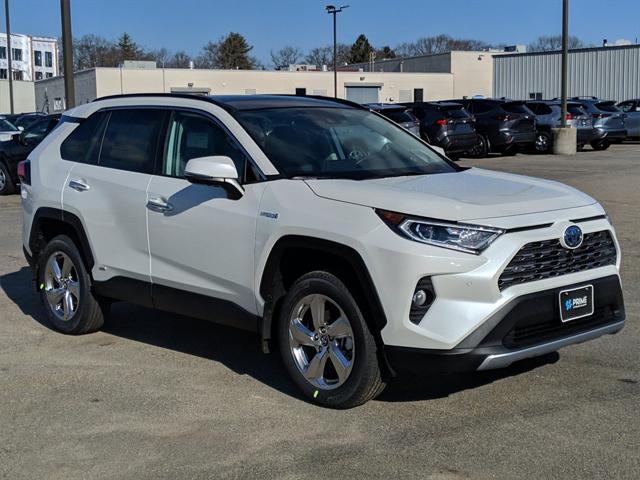 2021 Toyota RAV4 Hybrid Limited for sale in Boston, MA