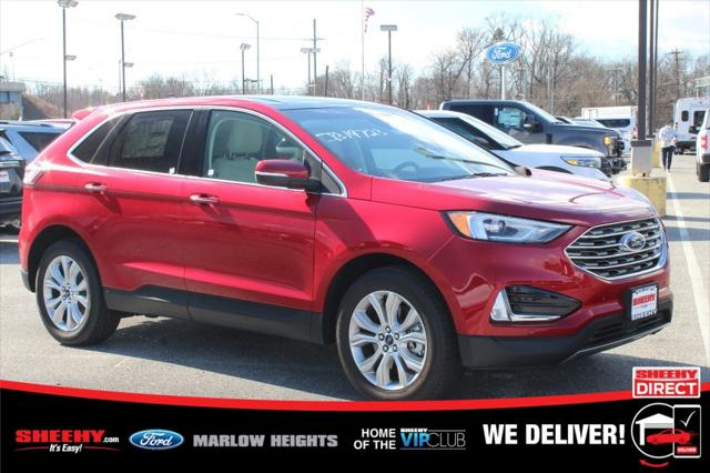 2020 Ford Edge Titanium for sale in Marlow Heights, MD