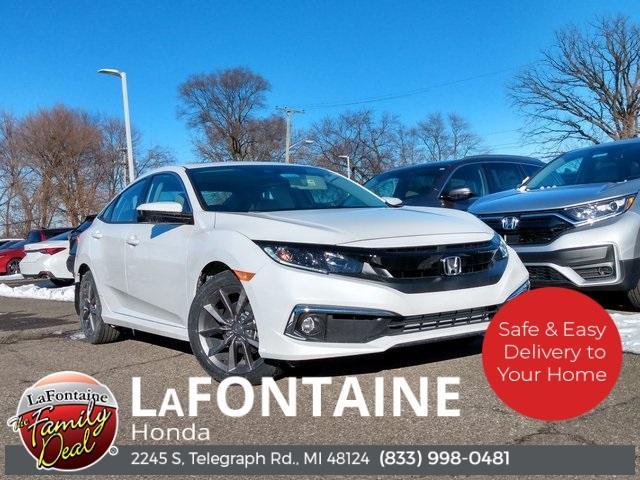 2021 Honda Civic Sedan EX for sale in Dearborn, MI