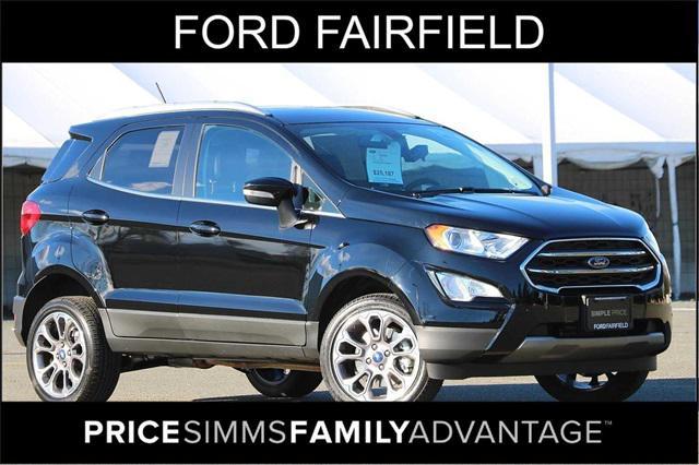 2021 Ford EcoSport Titanium for sale in Fairfield, CA