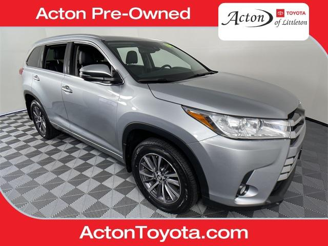2017 Toyota Highlander XLE for sale in Acton, MA