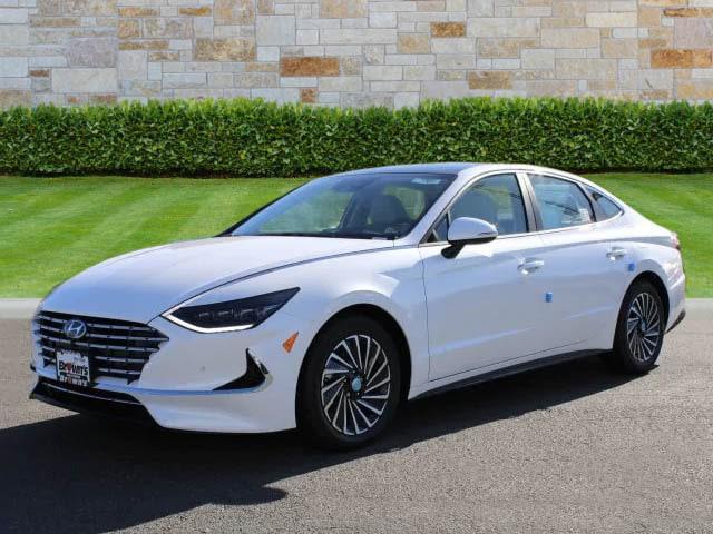 2021 Hyundai Sonata Hybrid Limited for sale in Leesburg, VA