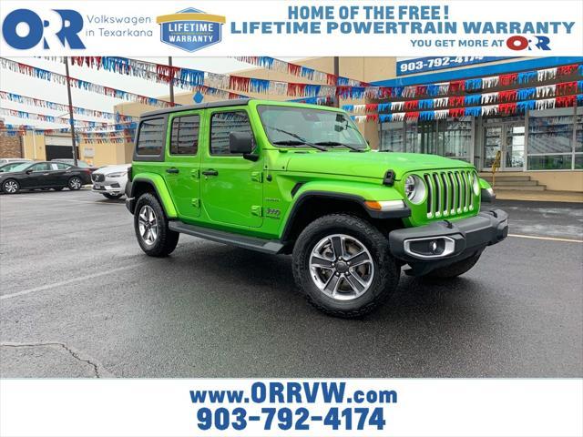 2020 Jeep Wrangler Unlimited Sahara [7]
