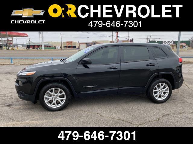 2016 Jeep Cherokee Sport [9]