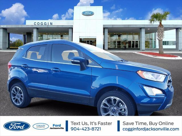 2021 Ford EcoSport Titanium for sale in Jacksonville, FL