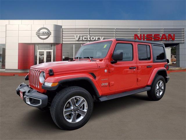 2020 Jeep Wrangler Unlimited Sahara [2]