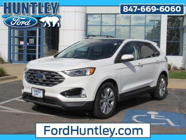 2021 Ford Edge Titanium for sale in Huntley, IL