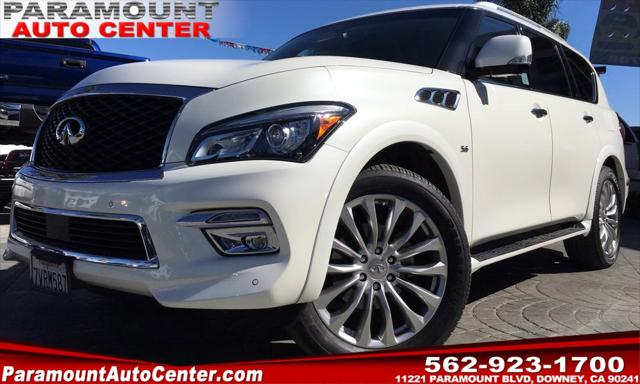 2016 INFINITI QX80 2WD 4dr for sale in Downey, CA