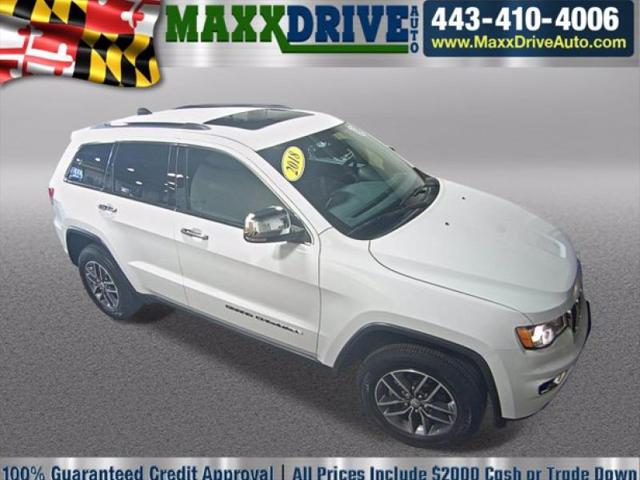 2018 Jeep Grand Cherokee Limited for sale in Glen Burnie, MD