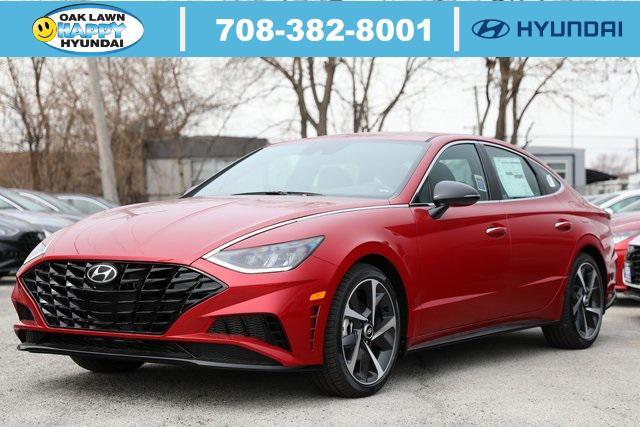 2021 Hyundai Sonata SEL Plus for sale in Oak Lawn, IL