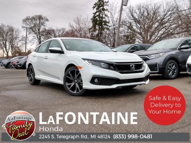 2021 Honda Civic Sedan Sport for sale in Dearborn, MI