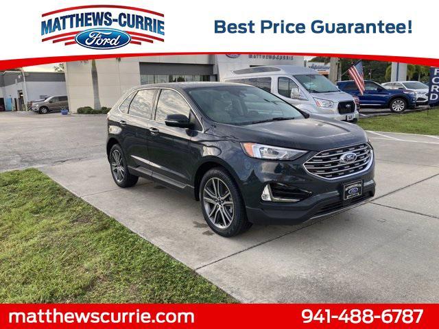 2021 Ford Edge Titanium for sale in Nokomis, FL