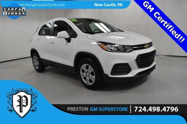 2018 Chevrolet Trax LS for sale in New Castle, PA