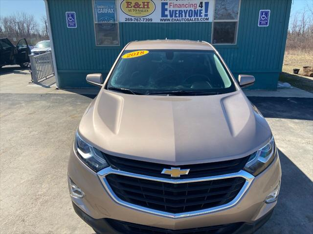 2018 Chevrolet Equinox LT for sale in South Haven, MI
