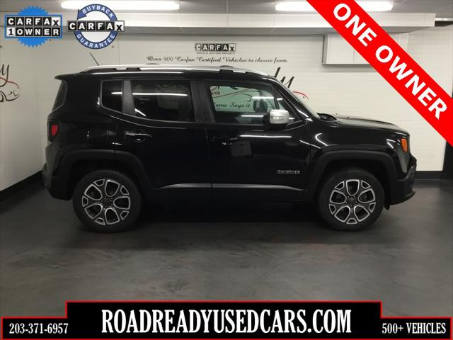 2016 Jeep Renegade Limited for sale in Bridgeport, CT