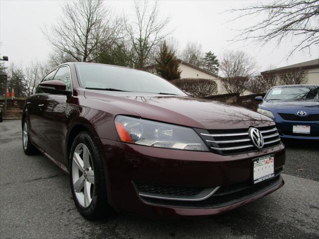 2012 Volkswagen Passat SE for sale in Germantown, MD