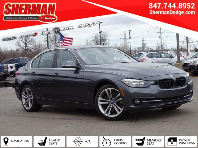 2017 BMW 3 Series 330e iPerformance for sale in Skokie, IL